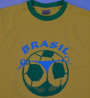 Brasilien Motiv WM T-Shirt 2014